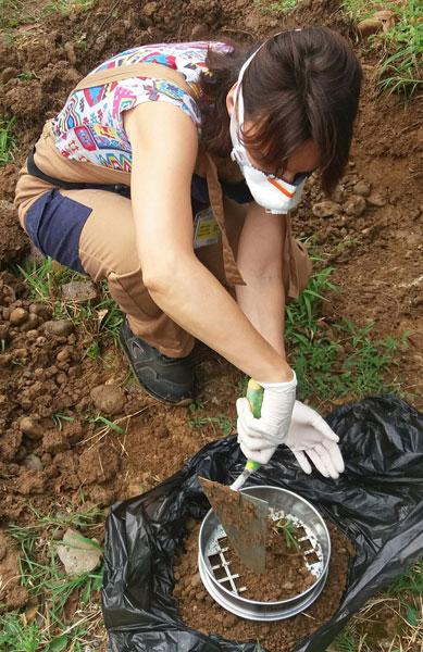 Campionamento terreni, terre e rocce da scavo 3