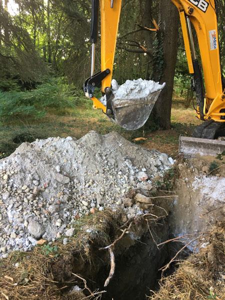 Campionamento terreni, terre e rocce da scavo 1